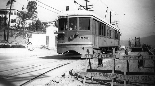 009 - LATL W Line Car 1559 N. Figueroa St & Buena Vista Terrace. Last Day 19580417 | by Metro Transportation Library and Archive