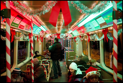 Holiday Train interior | by Andy Marfia