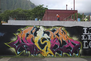 Fence mural 117 | by Windward CC Library