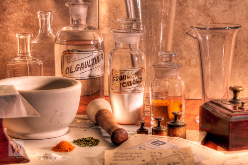 Apothecary memories: scene 5 | by flick-wray