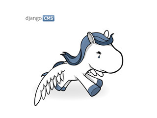 Sad django pony for the new django-cms.org | by divioag