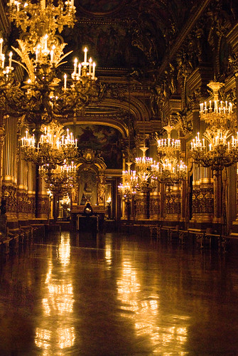 Le Grand Foyer Opera Garnier : Le grand foyer de l op�ra garnier paris �me et si on se