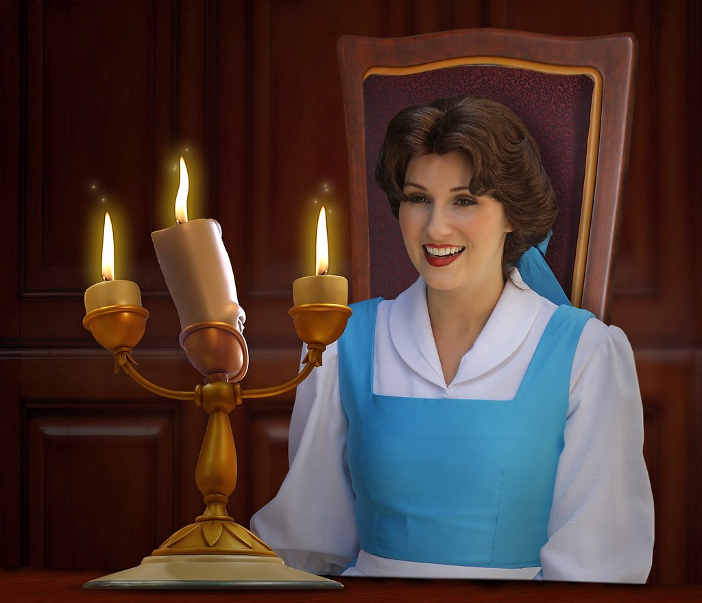 Be Our Guest O Belle Lumiere Beauty And The Beast
