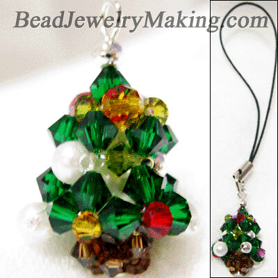 crystal christmas tree | by beadangel