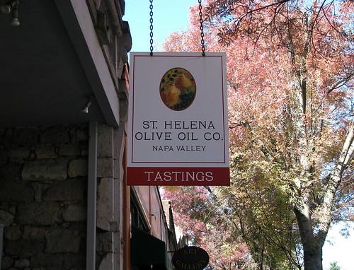 St. Helena Olive Oil Company In Napa Valley California | Flickr