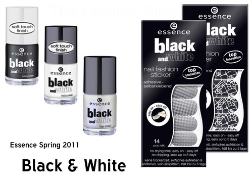 Essence Black & White Spring 2011 | by TheLacquerFiles