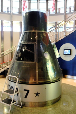 U.S. Naval Academy, Freedom 7 Space Capsule | The actual ...