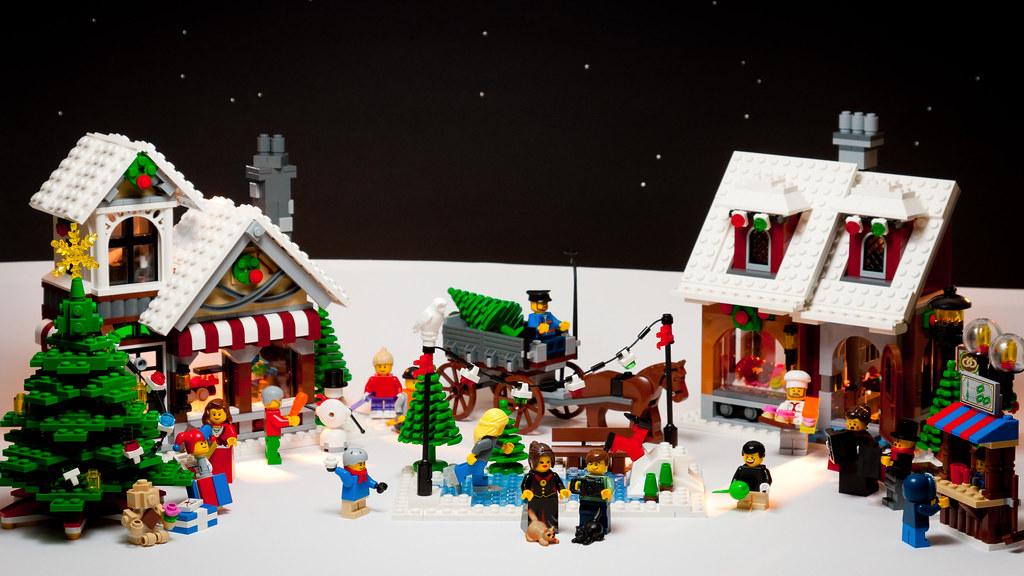 LEGO Christmas card design | Merry Christmas everybody! Setu… | Flickr