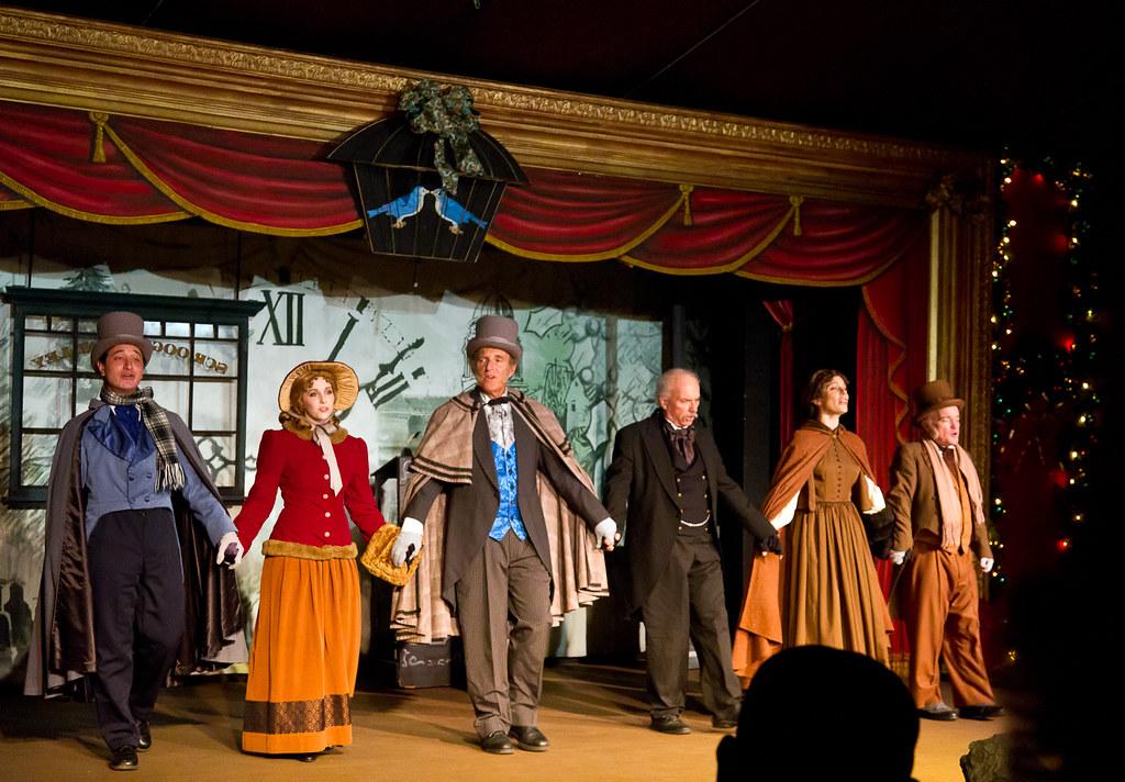 Knott\'s Berry Farm Bird Cage Theatre - A Christmas Carol   Flickr