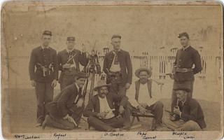 Maverick County Jail Guards, Eagle Pass Rifles | by SMU Central University Libraries