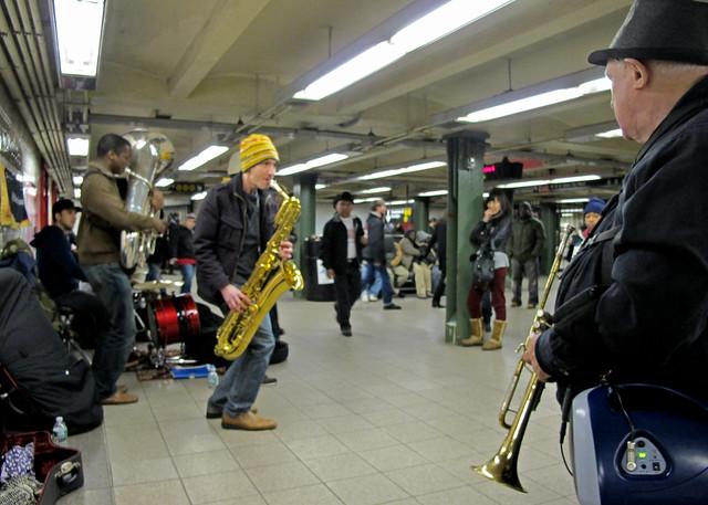 Union Station musicians