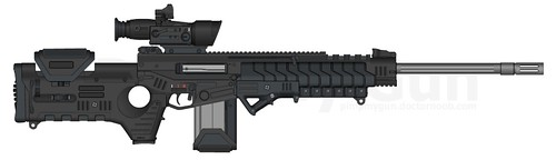 ACR Sniper 2 SPW Mod 0 | by ~~@ Lady Oddette @~~ The Awesome Pony of Awesome