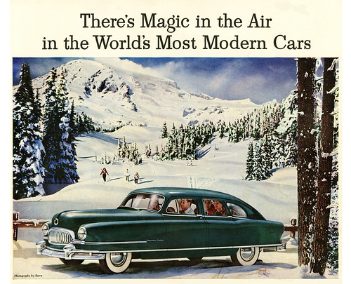 The 1951 Nash Airflyte Goes Skiing | by paul.malon