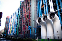 Центр Помпиду. Centre National d'Art et de Culture George Pompidou. Paris. France