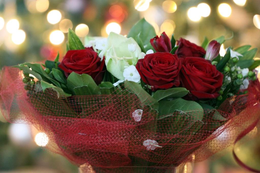 D356/365 20th wedding anniversary bouquet + bokeh | [P.A.M.] | Flickr