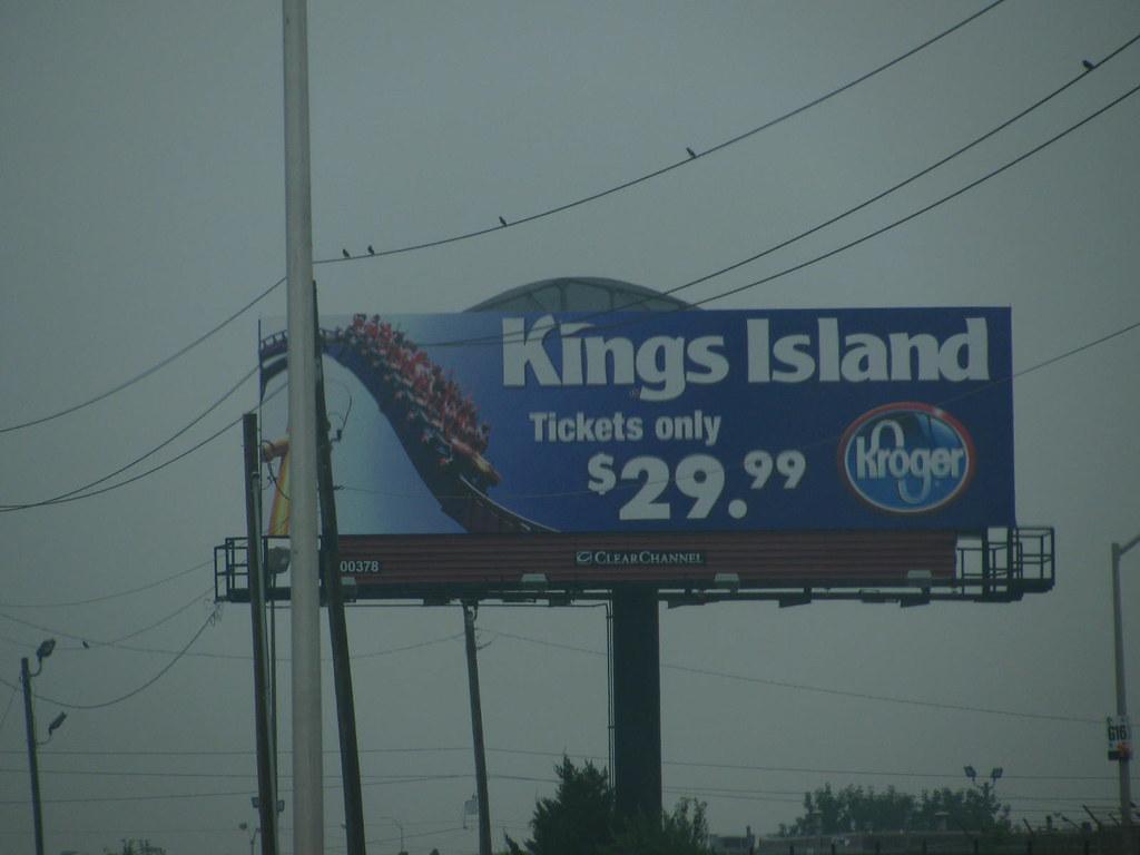 kroger discount tickets kings island