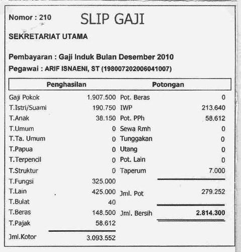 Slip Gaji