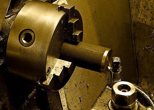 Turning Steel in a Myford Lathe | by tudedude