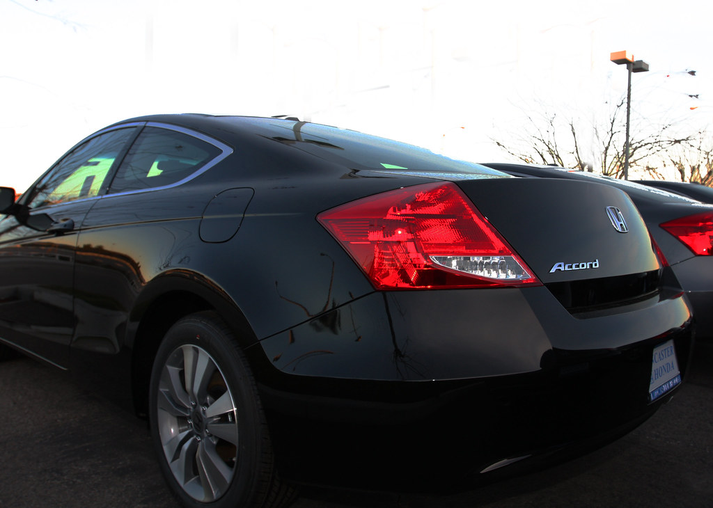 Perfect ... 2011 Honda Accord Coupe Restyle: In This Photograph The Angular Nature  Of The Restyled Rear