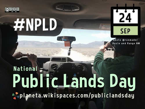 September 24 is National Public Lands Day in the USA #npld #NationalPublicLandsDay http://planeta.wikispaces.com/publiclandsday