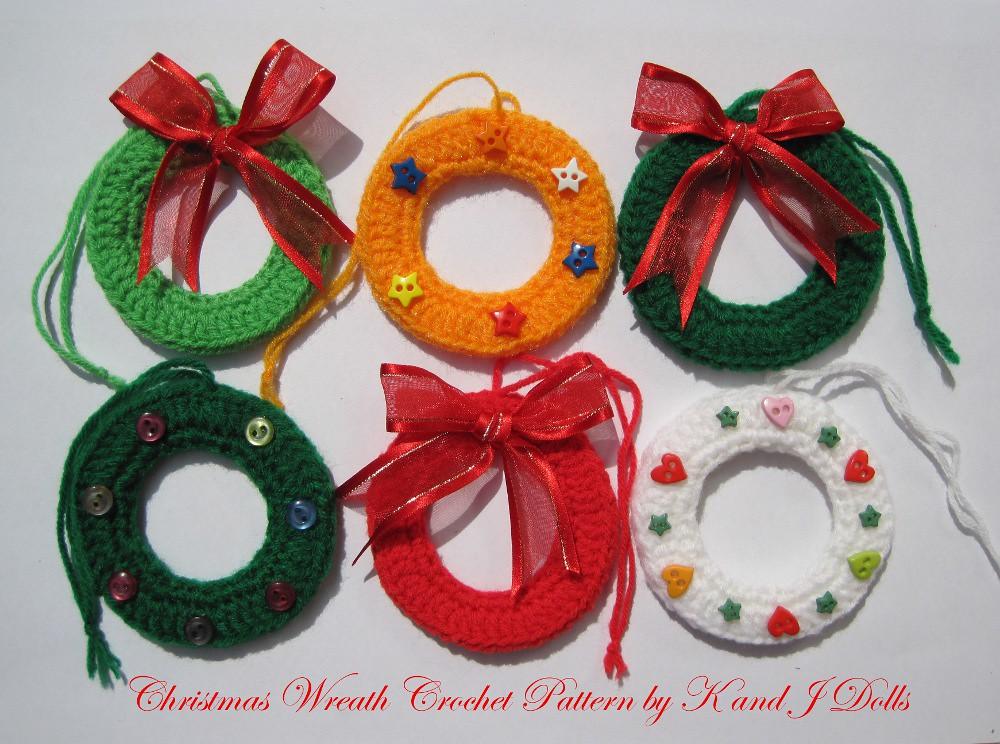 Christmas Wreath Crochet Pattern Crochet Pattern Available Flickr