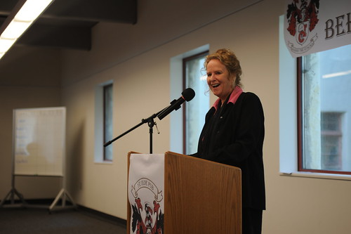 Provost and Vice President for Academic Affairs, Dawn Neuman speaking at the 2010 Celebration of Faculty Accomplishments | by California State University Channel Islands