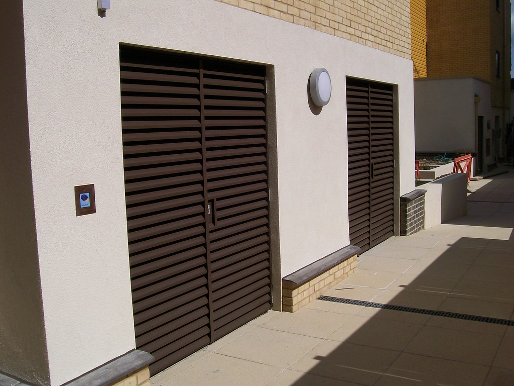 External Louvred Plantroom Doors | Nationwide Louvre Company… | Flickr