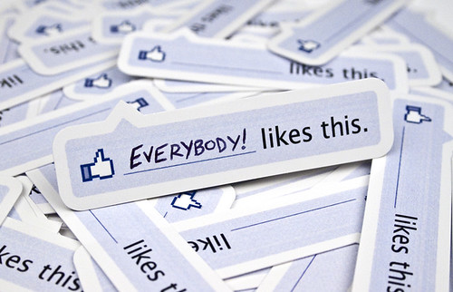Facebook Like Stickers | by 55His.com