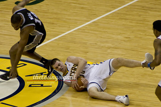 Tyler Hansbrough | by Aaron Doster