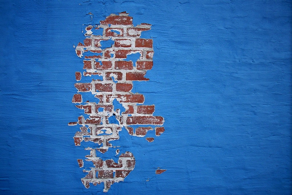 blue wall and bricks baenk com blue blue wall and bricks