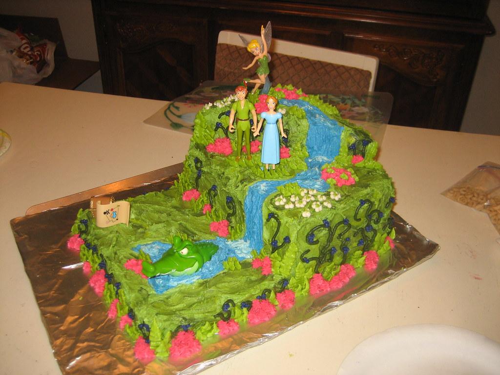Peter Pan Cake My Daughters 4th Birthday Cake Goodies By Gina
