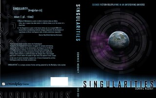 Draft cover for Singularities RPG | by cybergoths