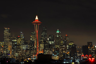 city and needle 2276 | by Light of the Moon Photography