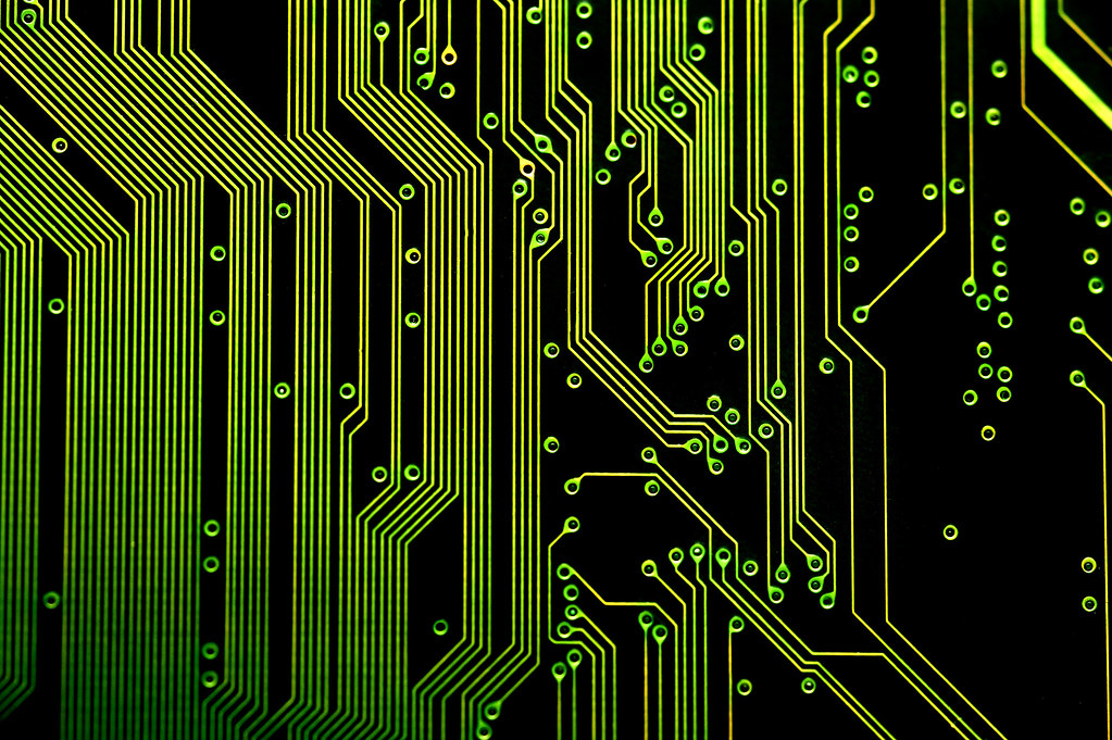 electronic circuit board | details of the electronic circuit… | Flickr