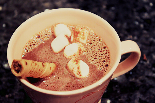 hot chocolate | by heytherekelsi