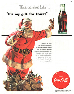"""It's my gift for thirst"" Coke ad 