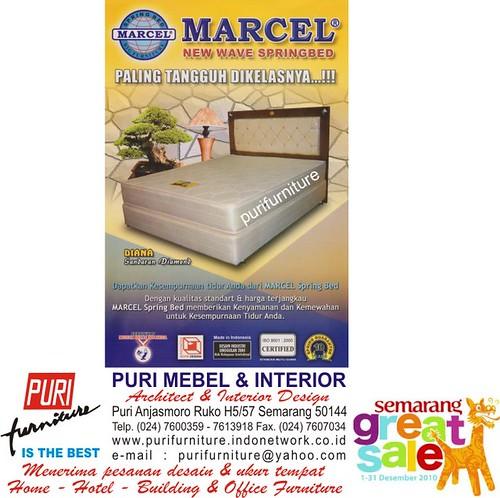 SPRING BED MARCEL