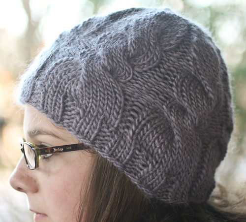 "Hineri in Rowan Cocoon ""Lavender Ice"" 
