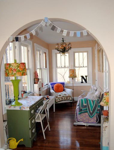 lower level sunroom | by confetti garden- nicole hill