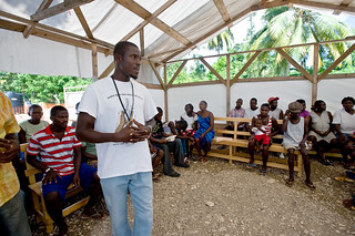 Educating camp residents about cholera | by Save the Children