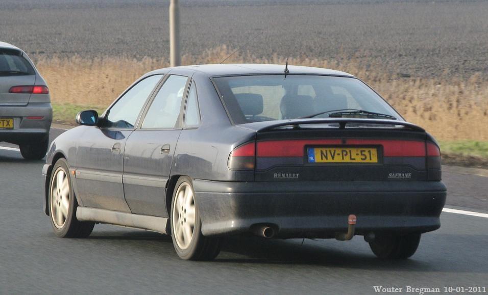 Renault Safrane Baccara V6 Biturbo 1996 Wouter Bregman Flickr