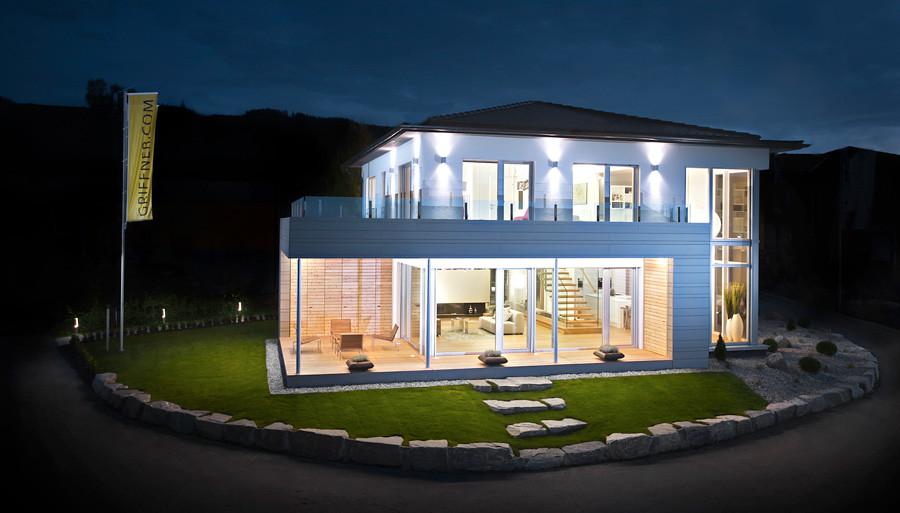 dramatisches weises interieur design beeinflusst escher .... 365 ...