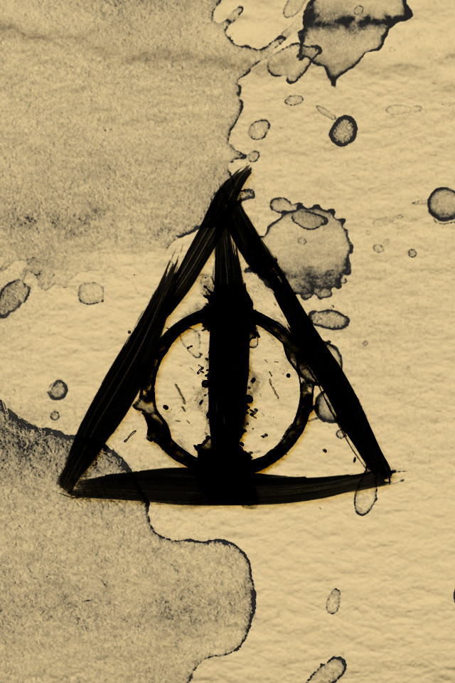 painted deathly hallows had a request for a harry potter flickr
