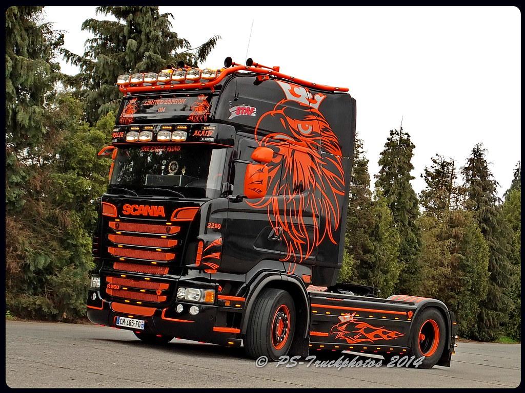 SCANIA R560 V8 Topline - Staff - F (2) | PS-Truckphotos | Flickr