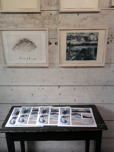poster prints in Porthmeor Studios | by Carolyn Saxby