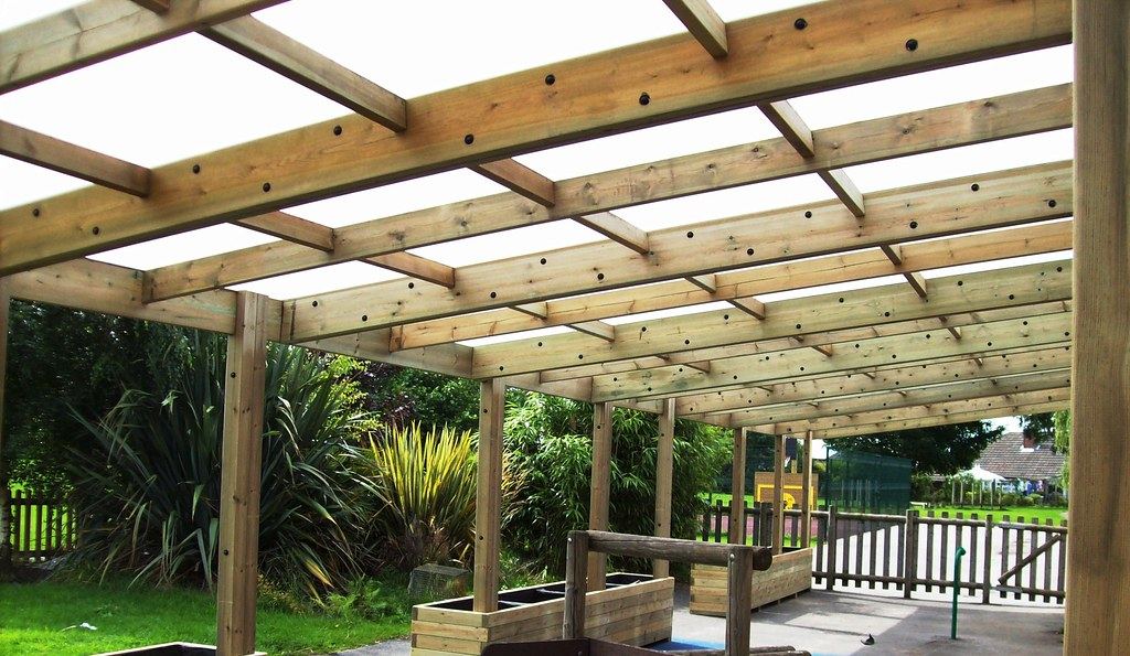 ... Wooden Shelter Timber Lean To Outdoor Classroom Wooden Shelter Canopy  Kew | By Pendlewood.street
