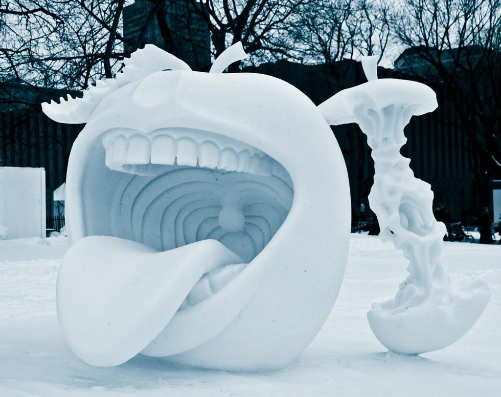 Sculpture sur Neige au Carnaval de Québec | Pierre-Alexandre ...