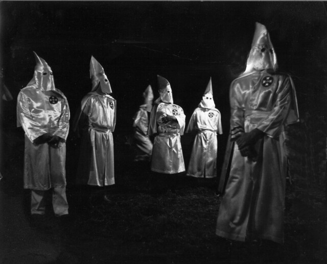 the KKK rally (circa early 70's)