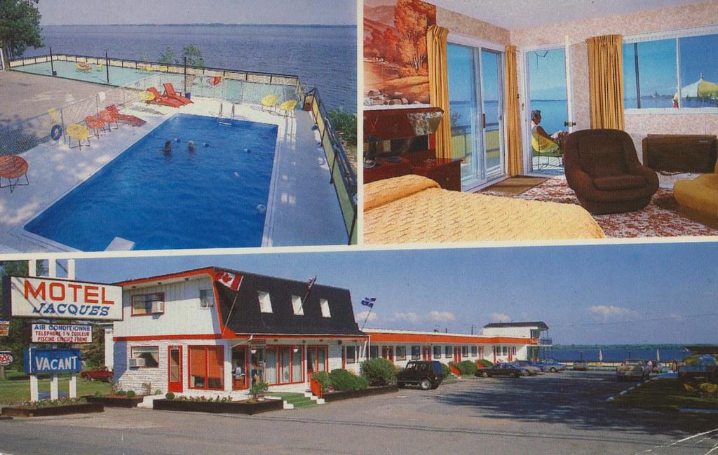 Motel Jacques - Ste. Marthe du Cap-De-La-Madeleine, Quebec