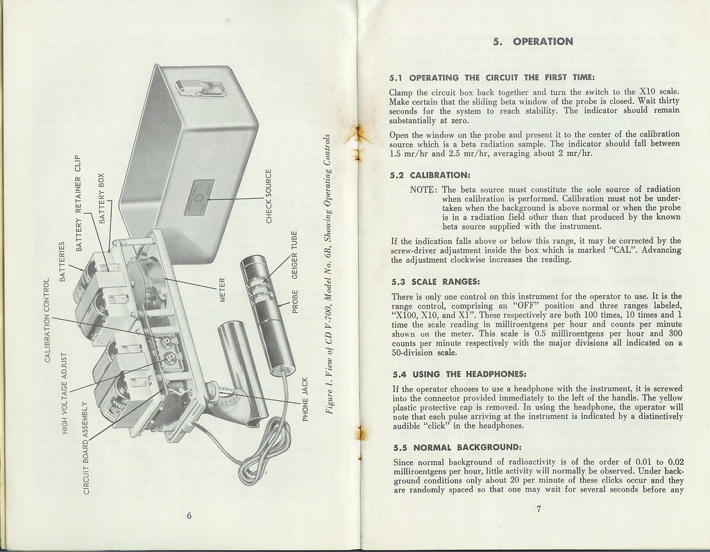 Cdv 700 Geiger Counter Manual Page 6 7 The Instructions An Flickr Schematic Help By Redbeard Math Pirate
